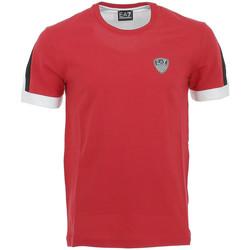 Vêtements Homme T-shirts manches courtes Ea7 Emporio Armani Tee-shirt EA7 Rouge