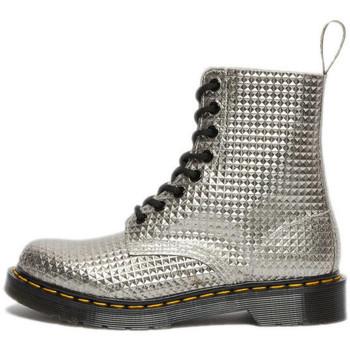Chaussures Femme Boots Dr Martens Boots Argent