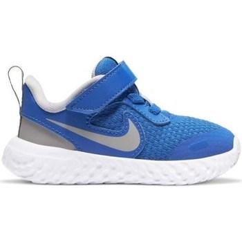 Chaussures Garçon Baskets basses Nike Revolution 5 Tdv Bleu