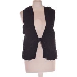 Vêtements Femme Gilets / Cardigans Sonia Rykiel Gilet Femme  38 - T2 - M Noir
