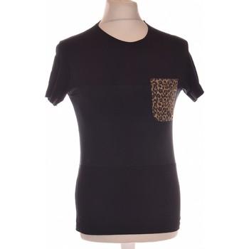 Vêtements Homme T-shirts manches courtes Zara T-shirt Manches Courtes  36 - T1 - S Noir