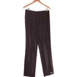 Vêtements Femme Pantalons 1.2.3 Pantalon Droit Femme  38 - T2 - M Noir