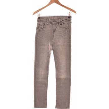Vêtements Femme Jeans slim Promod Jean Slim Femme  34 - T0 - Xs Gris