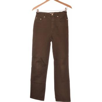 Vêtements Femme Pantalons Moschino Pantalon Droit Femme  36 - T1 - S Vert