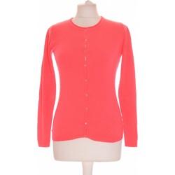 Vêtements Femme Gilets / Cardigans Galeries Lafayette Gilet Femme  34 - T0 - Xs Rose