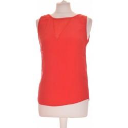 Vêtements Femme Tops / Blouses Naf Naf Débardeur  34 - T0 - Xs Rouge