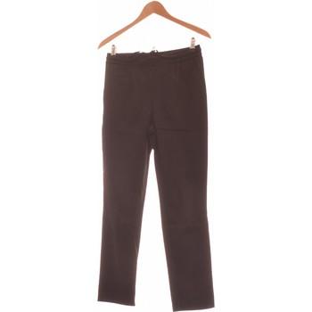 Vêtements Femme Pantalons Zara Pantalon Droit Femme  34 - T0 - Xs Noir