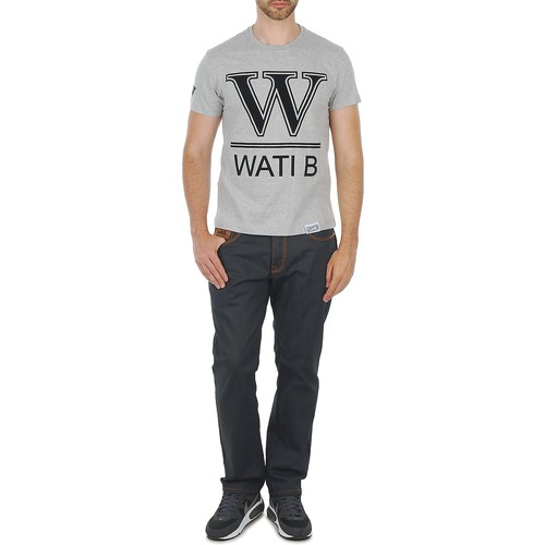 B Gris T Homme Tee Wati Manches Courtes shirts rCxBdeWo