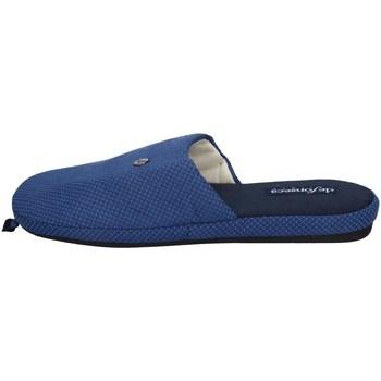 Chaussures Homme Chaussons De Fonseca ROMA TOP E M741 BLEU FONCÉ