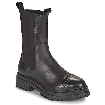 Chaussures Femme Boots Ikks BT80095 Noir