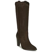 Chaussures Femme Bottes ville Ikks BR80185 Marron