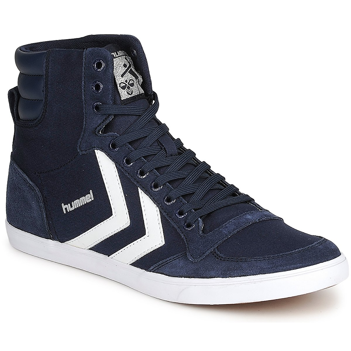 13cf2c8ad4ab Chaussures Baskets montantes Hummel TEN STAR HIGH CANVAS Marine
