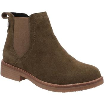 Chaussures Femme Boots Hush puppies  Kaki