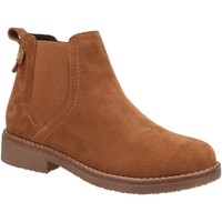 Chaussures Femme Boots Hush puppies  Marron
