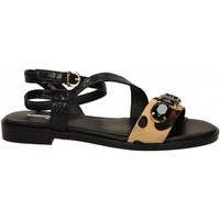 Chaussures Femme Sandales et Nu-pieds Jeannot CAVALLINO/WIPS maculato-nero