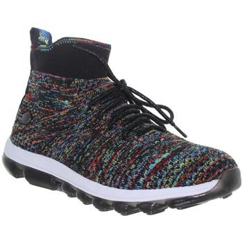 Chaussures Femme Baskets montantes Bernie Mev Gummies Erika Black Multi multicolore