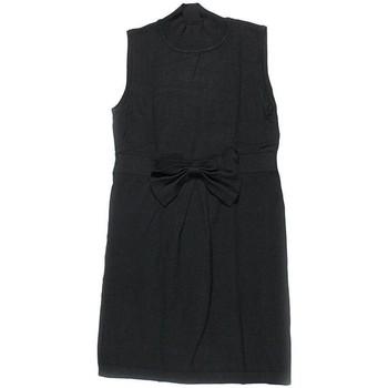 Vêtements Femme Robes courtes Silvian Heach Robe Mi-longue  38 - T2 - M Noir