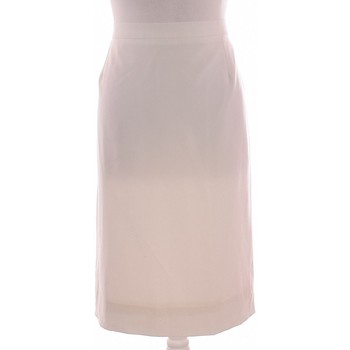 Vêtements Femme Jupes Gerard Darel Jupe Mi Longue  50 - Xxxxl Blanc
