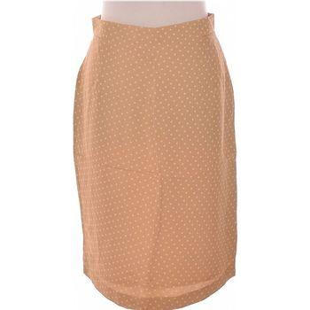 Vêtements Femme Jupes Givenchy Jupe Mi Longue  42 - T4 - L/xl Beige