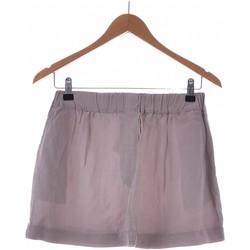 Vêtements Femme Jupes Zara Jupe Courte  36 - T1 - S Gris
