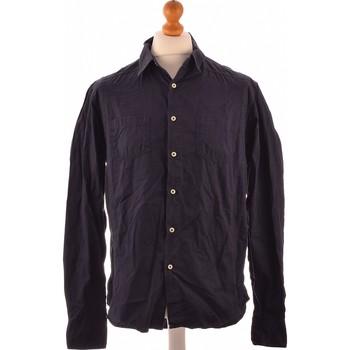 Vêtements Homme Chemises manches longues Freesoul Chemise Manches Longues  34 - T0 - Xs Bleu
