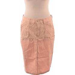 Vêtements Femme Jupes Armand Thiery Jupe Mi Longue  40 - T3 - L Rose