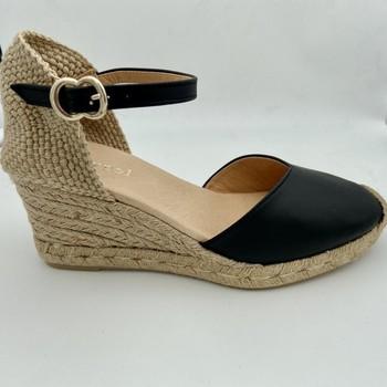 Chaussures Femme Sandales et Nu-pieds Maypol LETTI-11-N SANDALE FERMEE Noir