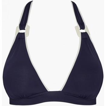 Vêtements Femme Maillots de bain séparables Aubade haut maillot de bain triangle la baie des vagues Encre