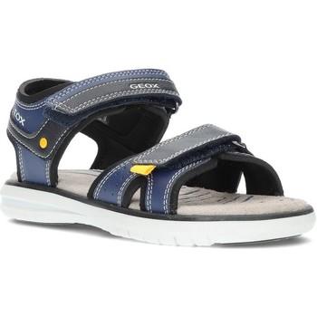 Chaussures Garçon Sandales et Nu-pieds Geox SANDALES  MARATEA J15DRA MARINE