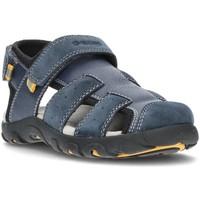Chaussures Garçon Sandales et Nu-pieds Geox SANDALES  STRADA J1524B MARINE