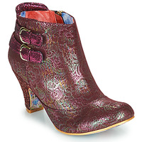 Chaussures Femme Bottines Irregular Choice THINK ABOUT IT Bordeaux