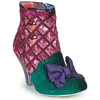Chaussures Femme Bottines Irregular Choice DAINTY DARLING Rose / Vert