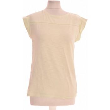 Vêtements Femme Tops / Blouses Benetton Top Manches Courtes  34 - T0 - Xs Vert