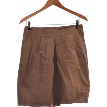 Vêtements Femme Jupes Vintage Jupe Mi Longue  38 - T2 - M Marron