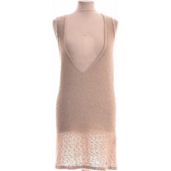 Vêtements Femme Robes courtes Des Petits Hauts Robe Courte  38 - T2 - M Beige