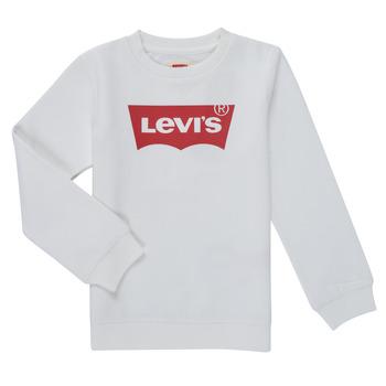 Vêtements Garçon Sweats Levi's BATWING CREWNECK SWEATSHIRT Blanc
