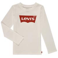 Vêtements Fille T-shirts manches longues Levi's LS BATWING TEE Blanc