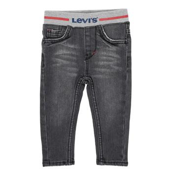 Vêtements Garçon Jeans skinny Levi's THEWARMPULLONSKINNY JEAN Gris