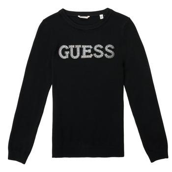 Vêtements Fille Pulls Guess TAKEI Noir