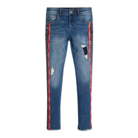 Vêtements Fille Jeans slim Guess TRAMIN Bleu
