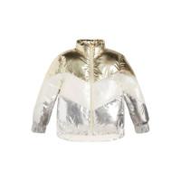 Vêtements Fille Doudounes Guess FRILLY Blanc / Gris / Doré
