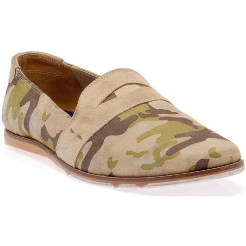 Chaussures Homme Mocassins M By Mocassin vert