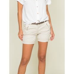 Vêtements Femme Shorts / Bermudas Dona X Lisa Short chino XORA Beige