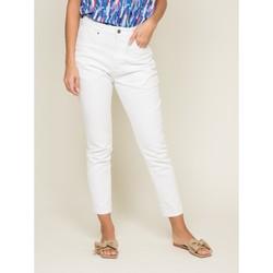 Vêtements Femme Jeans slim Dona X Lisa Jean slim EQUATEUR Blanc