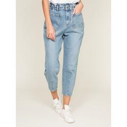 Vêtements Femme Jeans slim Dona X Lisa Jean taille haute ENDER Bleu clair