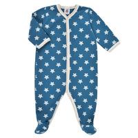 Vêtements Garçon Pyjamas / Chemises de nuit Petit Bateau SOLARIE Bleu / Blanc