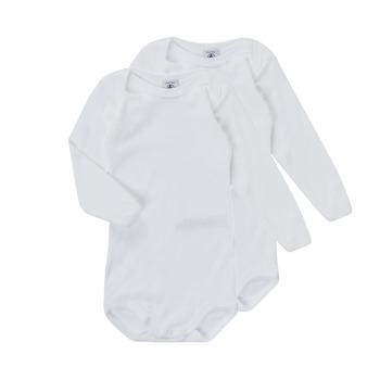 Vêtements Enfant Pyjamas / Chemises de nuit Petit Bateau TESSA Blanc