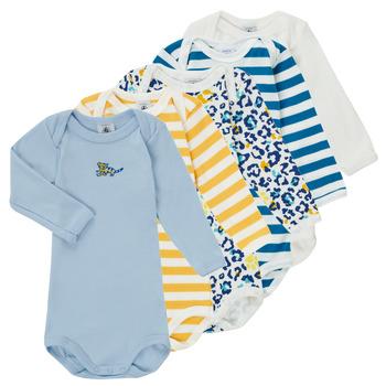 Vêtements Garçon Pyjamas / Chemises de nuit Petit Bateau FEDDY Multicolore
