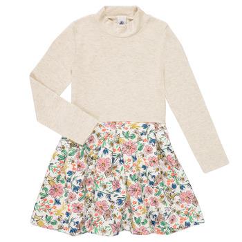Vêtements Fille Robes courtes Petit Bateau WESSRI Multicolore