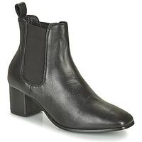 Chaussures Femme Bottes ville Levi's DELILAH CHELSEA Noir